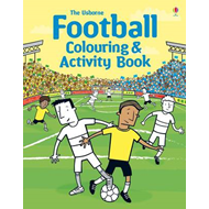 Football Colouring and Activity Book (BOK)