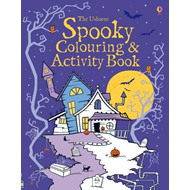 Produktbilde for Spooky Colouring and Activity Book (BOK)