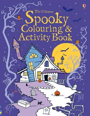 Spooky Colouring and Activity Book (BOK)