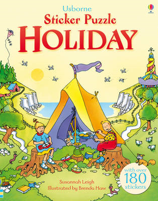 Sticker Puzzle Holiday (BOK)
