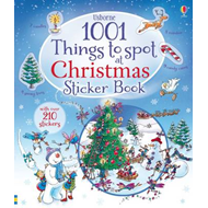 1001 Christmas Things to Spot Sticker Book (BOK)