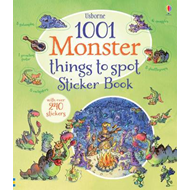 1001 Monster Things to Spot Sticker Book (BOK)