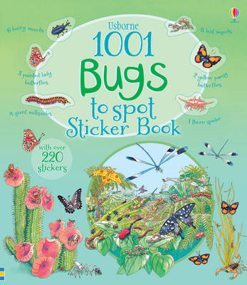 1001 Bugs to Spot Sticker Book (BOK)