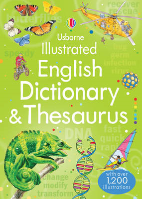 Illustrated English Dictionary & Thesaurus (BOK)