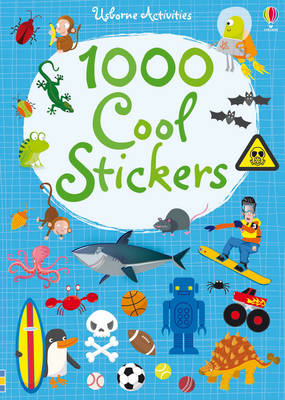 1000 Cool Stickers (BOK)