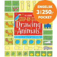 Produktbilde for Step-by-Step Drawing Animals (BOK)