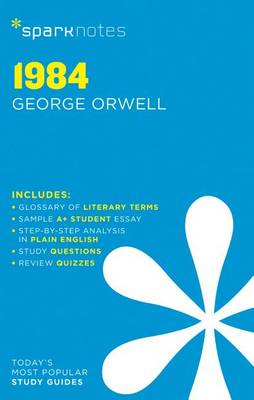 1984 SparkNotes Literature Guide (BOK)