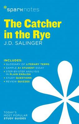 Catcher in the Rye SparkNotes Literature Guide (BOK)
