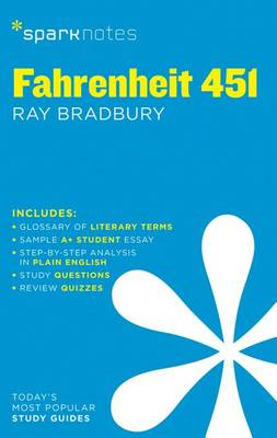 Fahrenheit 451 SparkNotes Literature Guide (BOK)
