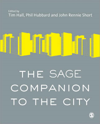 SAGE Companion to the City (BOK)