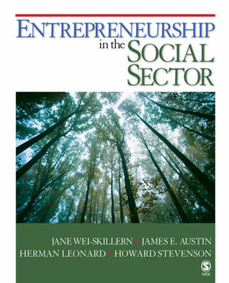Entrepreneurship in the Social Sector (BOK)