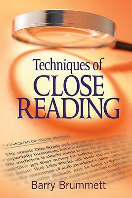 Techniques of Close Reading (BOK)