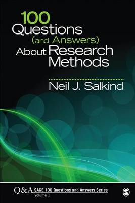 100 Questions (and Answers) About Research Methods (BOK)