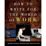 Cengage Advantage Books: How to Write for the World of Work (BOK)