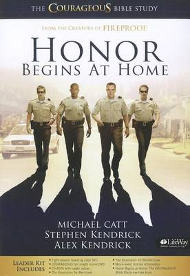 Honor Begins at Home Leaders Kit: The Courageous Bible Study (BOK)