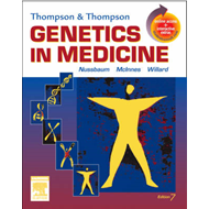 Thompson and Thompson Genetics in Medicine (BOK)