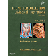 Netter Collection of Medical Illustrations: The Endocrine Sy (BOK)