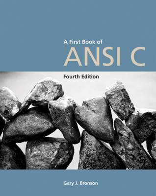 A First Book of ANSI C (BOK)