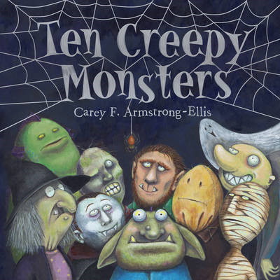 Ten Creepy Monsters (BOK)