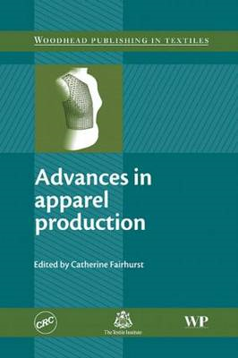 Advances in Apparel Production (BOK)