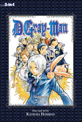 D.Gray-man (3-in-1 Edition), Vol. 3 (BOK)
