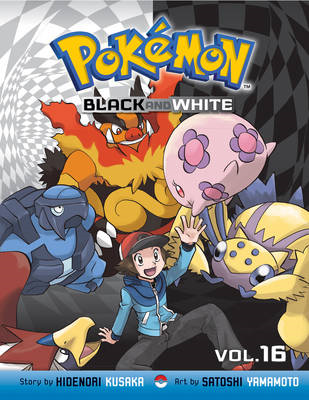 Pokemon Black and White, Vol. 16 (BOK)