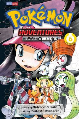 Pokemon Adventures Black & White (BOK)