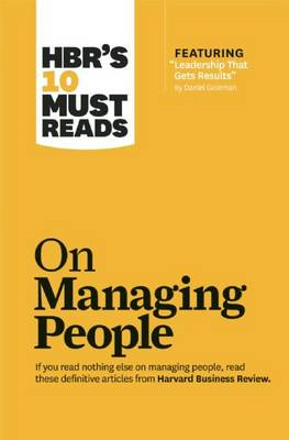HBR's 10 Must Reads on Managing People (with Featured Articl (BOK)