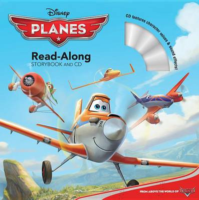 Planes Read-Along Storybook and CD (BOK)