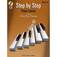 Edna Mae Burnam: Step by Step Piano Course - Book 4: Book 4 (BOK)