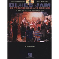 Blues Jam: Forty Progressions and Grooves (BOK)