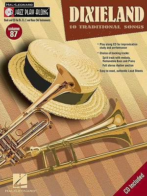 Jazz Play-Along: Dixieland: Volume 87 (BOK)