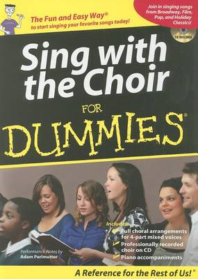 Sing with the Choir for Dummies (BOK)