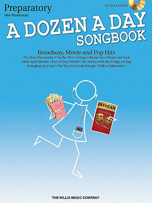 A Dozen a Day Songbook: Piano - Prepatory Book (BOK)