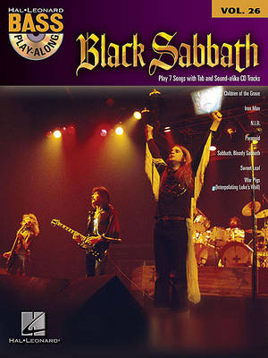 Bass Play-Along: Black Sabbath: Volume 26 (BOK)