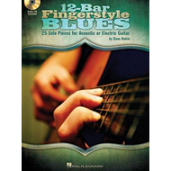 12-Bar Fingerstyle Blues: 25 Solo Pieces for Acoustic or Electric Guitar (BOK)