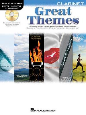 Clarinet Play-Along: Great Themes (BOK)