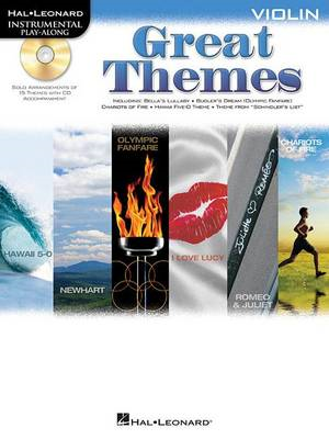 Violin Play-Along: Great Themes (BOK)