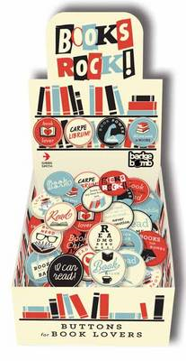 Books Rock! Badge Box: Buttons for Book Lovers (BOK)