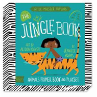 Babylit Jungle Book Playset: Animal Primer Book and Playset (BOK)