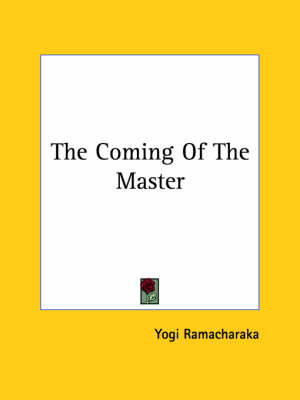 Coming of the Master (BOK)