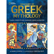 Produktbilde for Treasury of Greek Mythology - Classic Stories of Gods, Goddesses, Heroes & Monsters (BOK)