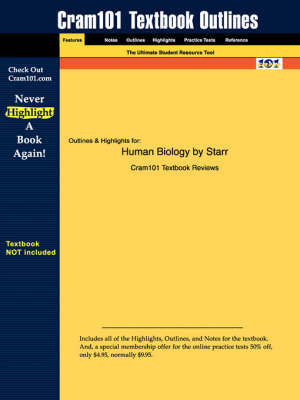 Studyguide for Human Biology by Starr, ISBN 9780534997830 (BOK)