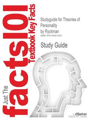 Studyguide for Theories of Personality by Ryckman, ISBN 9780 (BOK)