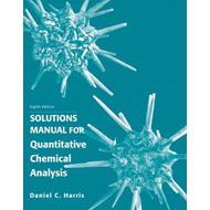 Student's Solutions Manual for Quantitative Chemical Analysis (BOK)