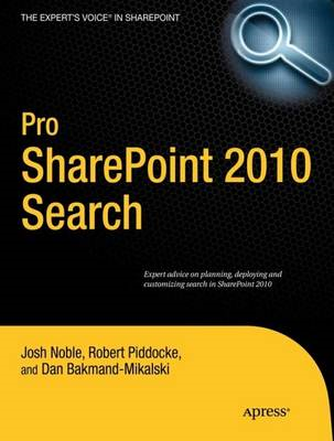 Pro SharePoint 2010 Search (BOK)