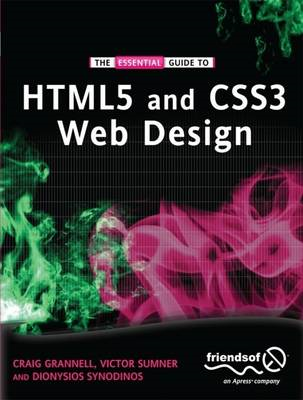 The Essential Guide to HTML5 and CSS3 Web Design (BOK)