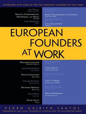 European Founders at Work (BOK)