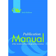 Publication Manual of the American Psychological Association (BOK)