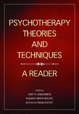 Psychotherapy Theories and Techniques (BOK)